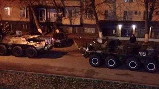 контртеррористическая операция в Грозном