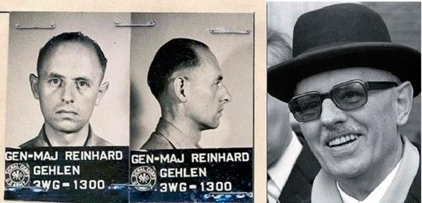 Рейнхард Гелен на службе Третьему Рейху и только чтосдавшийся армии США
