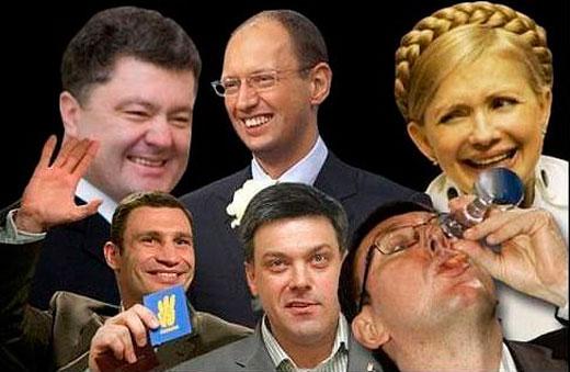 Переформатирование украинского политического поля