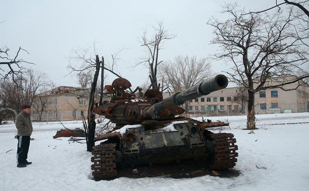 Война на Донбассе сегодня. 25.01