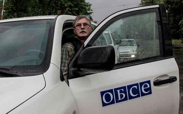 ОБСЕ требует от Украины прекратить огонь по Донецку