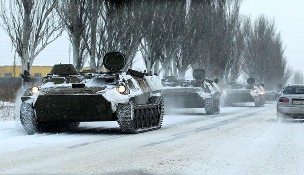 Сводка боевых действий в Новороссии за сегодня (25 января)