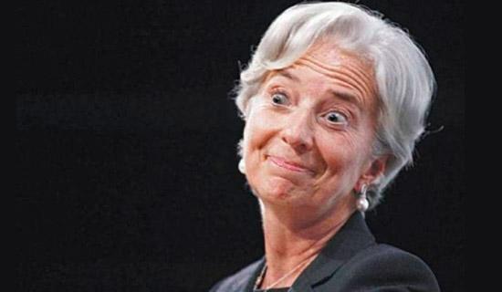 Кристин Лагард: кредитов от МВФ не будет