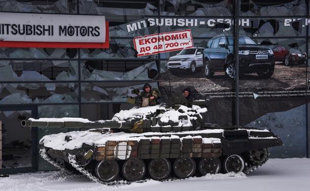 Сводка боевых действий на Донбассе за 17 января