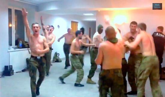 "Бойцы батальона ""Азов"" на отдыхе"