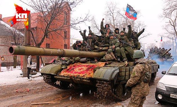 Ситуация на Донбассе 22 января