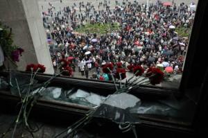На Украине, в Одессе, палачи судят сожженных заживо