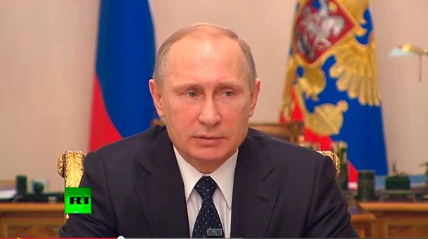 Путин: в гибели людей на Донбассе виноваты Киевские власти