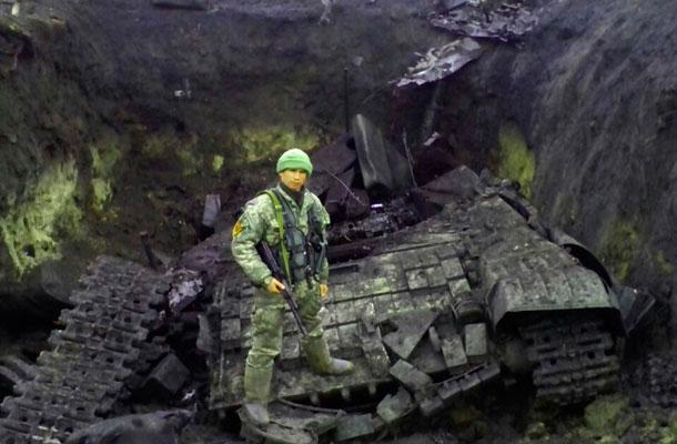 Война на Донбассе сегодня, к 29 января