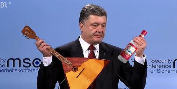 фотожабы на Порошенко, с паспортами