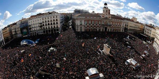 Испания мадрид Марш за перемены