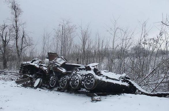 Ситуация в Дебальцево 17 февраля