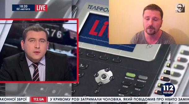 """Шарий: о """"прямых"""" эфирах укро ТВ из зоны АТО"""