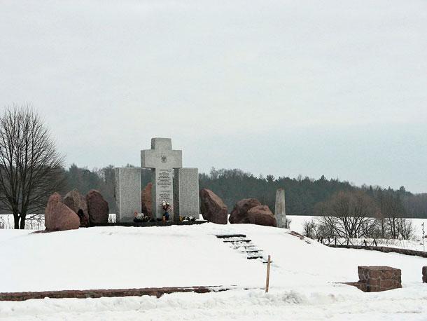 Второй мемориал уничтоженным жителям Гуты Пеняцкой. Первый был уничтожен неустановленными лицами в 1990-е годы