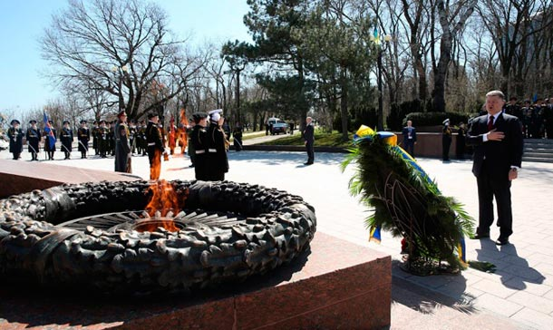 Одесситы Порошенко: убийца, фашизм не пройдет (фото, видео)