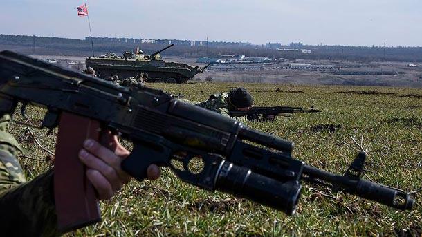 Ситуация на Донбассе 12.04.2015, сводка
