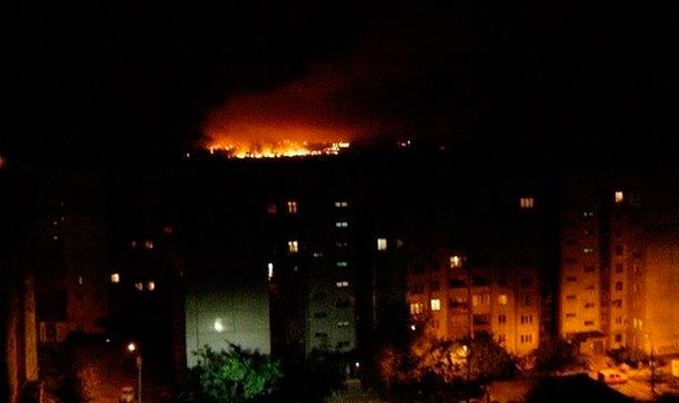 3 мая Донецк снова под обстрелом