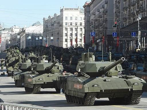 Генеральная репетиция Парада в Москва