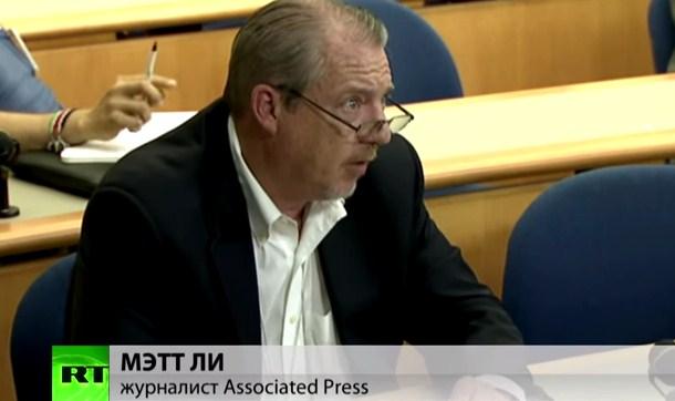 Представитель Госдепа США ушел от ответа на вопрос корреспондента RT об обстреле Горловки