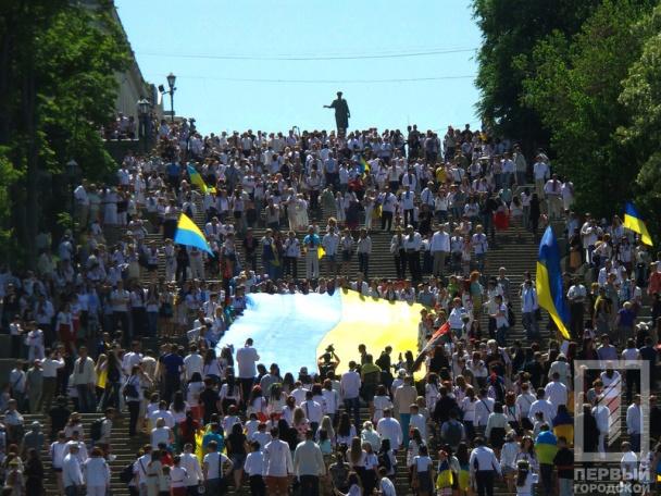 Праздник вышиванки в Одессе, 23 мая 2015