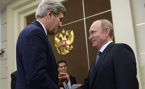 Совместная пресс-конференция Лаврова и Керри
