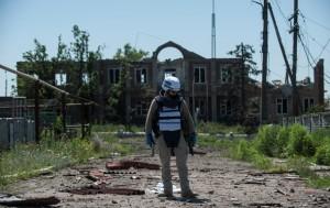 ОБСЕ не увидели отвода вооружений в ЛДНР