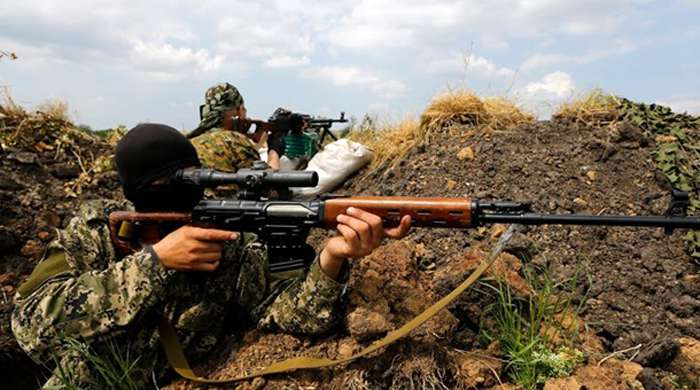 Ситуация на Донбассе 24 июля