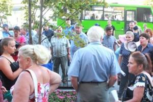В Харькове националисты разогнали митинг за спецстатус региона