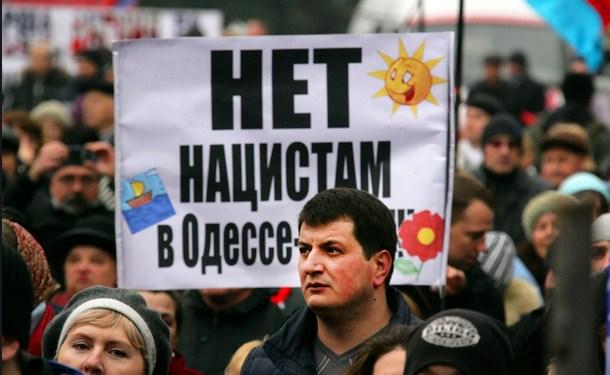 одесситы считают что в войне на Донбассе виноват Киев