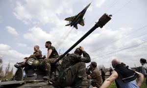 Ситуация на Юго-Востоке Украины напряженная