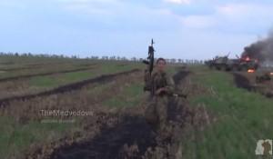Попытка наступление сил ЛНР на позиции ВСУ