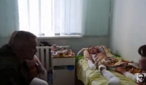 Интервью с одним из трех мальчиков подорвавшихся в Донецке