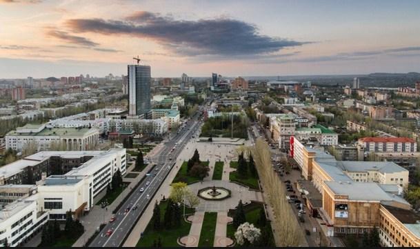 обстановке в Донецке на 12 августа