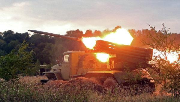 12-е Горловка вновь подверглась обстрелам