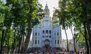 В Харькове открыли и освятили новый храм