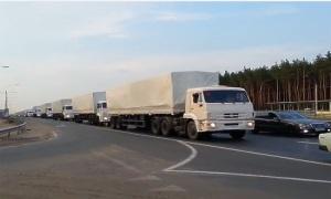 В Донбасс повезли гуманитарный груз