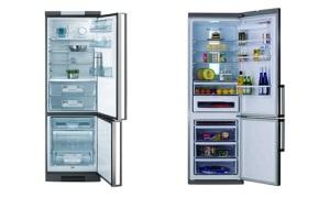 Современные холодильники от AEG